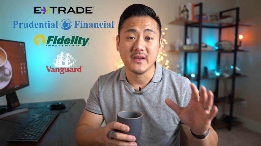 Daniel on screen with broker logos