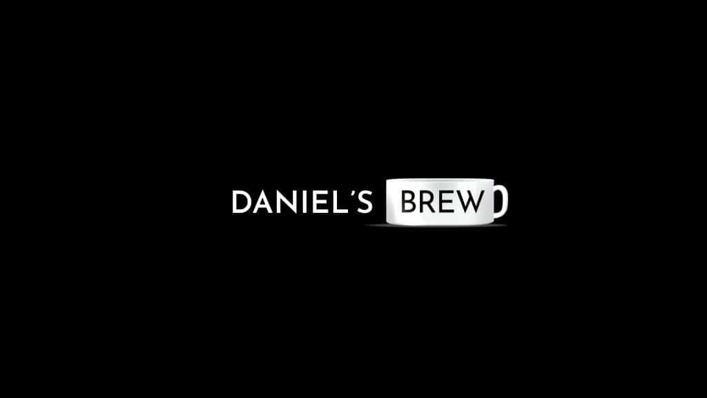 Daniel's Brew Title Screen with Logo