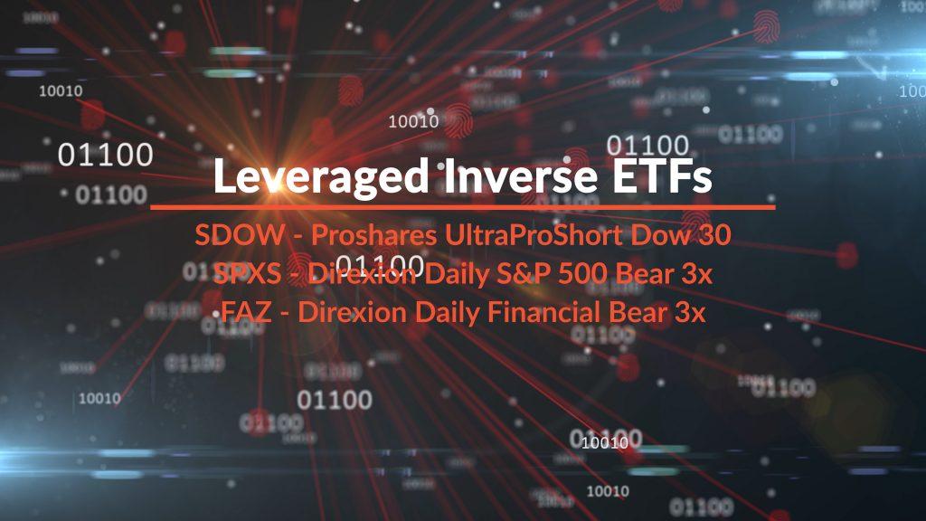 Leveraged ETFs table