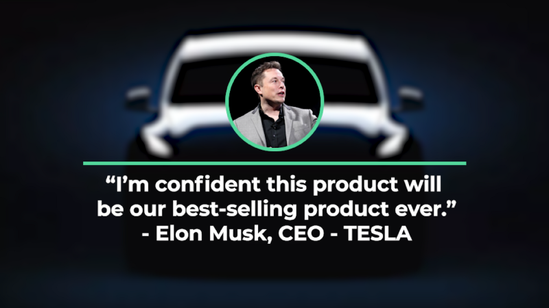 Quotation from Elon Musk