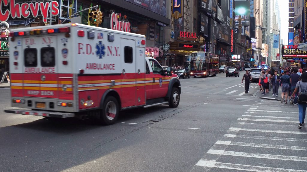Ambulance driving in NY