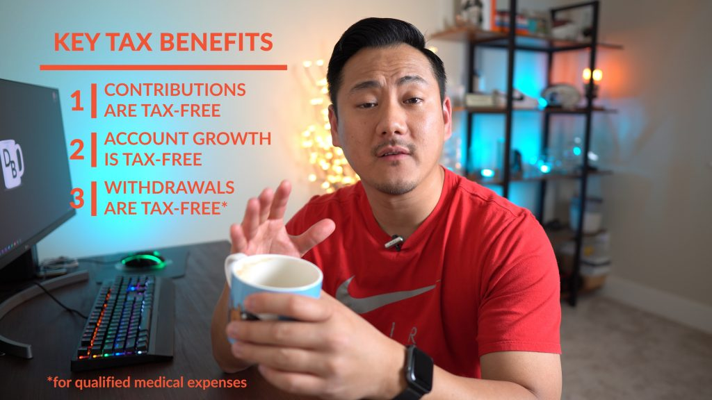 Daniel explaining key tax benefits