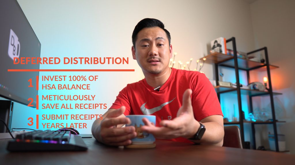 Daniel explaining deferred distributions