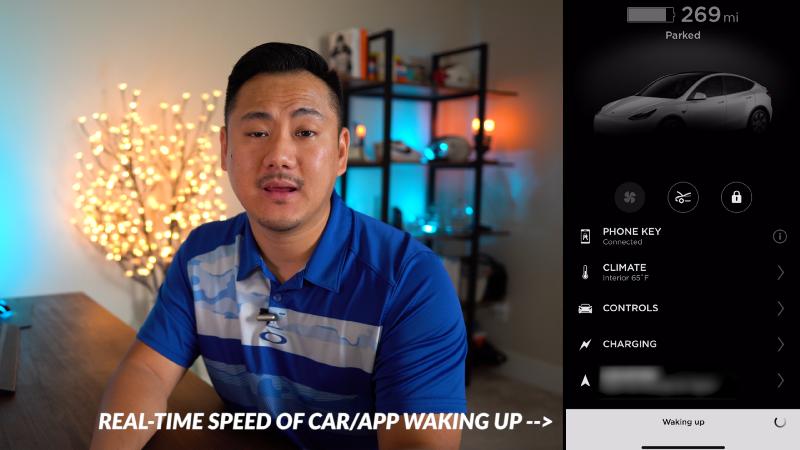 Daniel explaining app wake up time