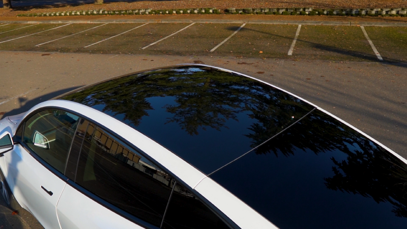 Picture of Model Y glass roof