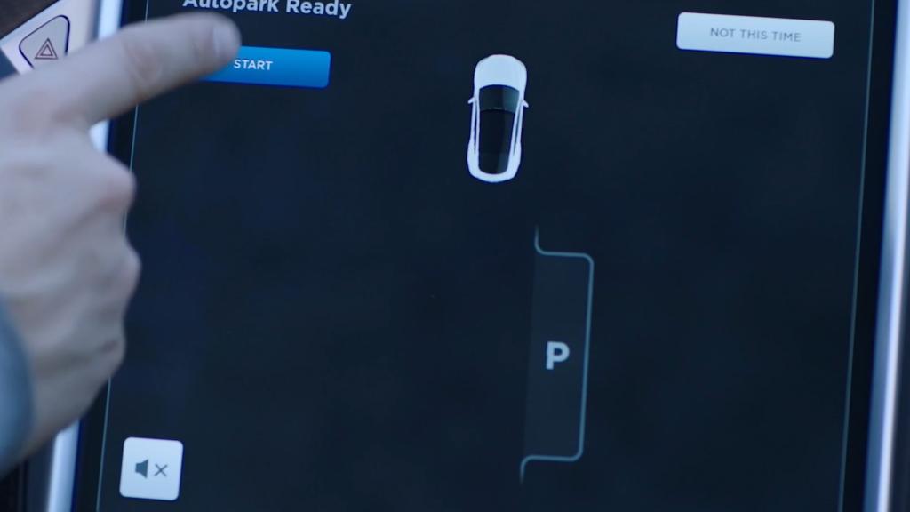 Autopark display image