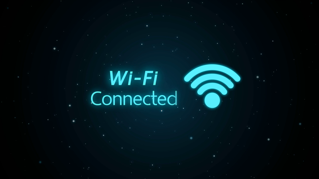 Wifi connected graphic