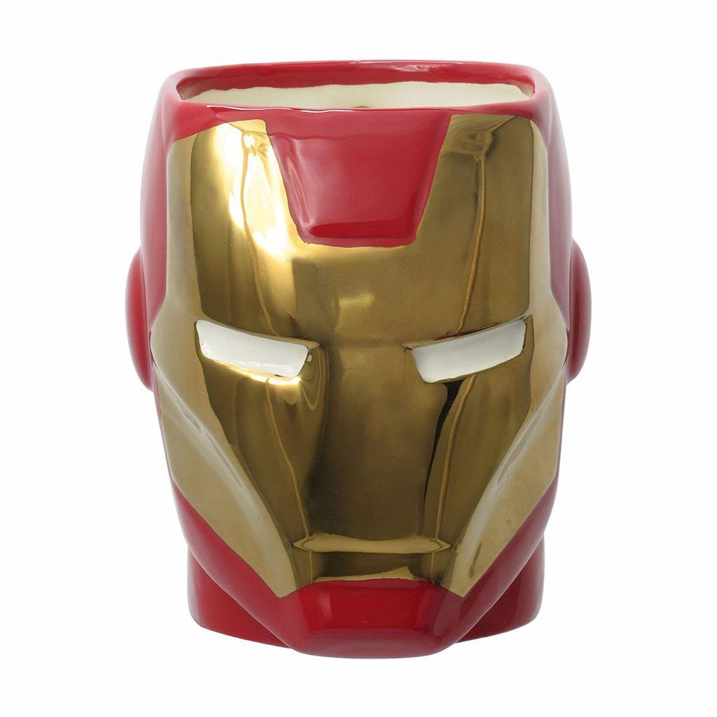 Gold Red Iron Man Mug