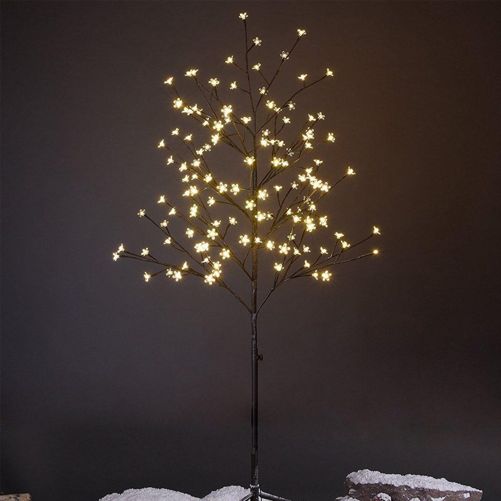LED Bokeh Light Tree
