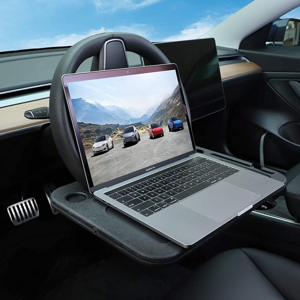 Steering Wheel Mount Desk