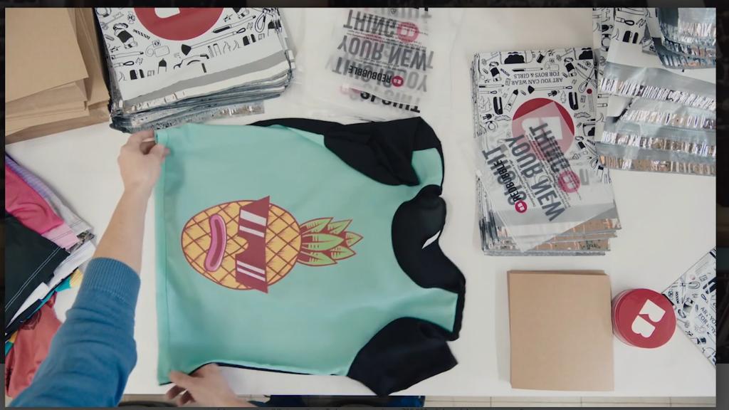 Screenshot of tshirt print