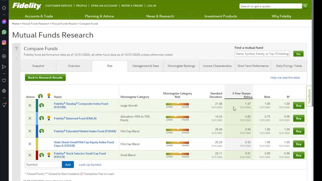 Mutual Fund Screenshot 5