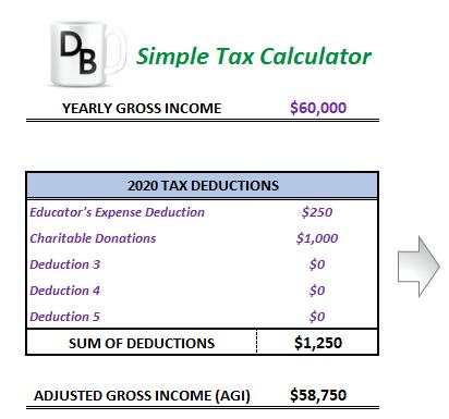 Tax Deductions screenshot