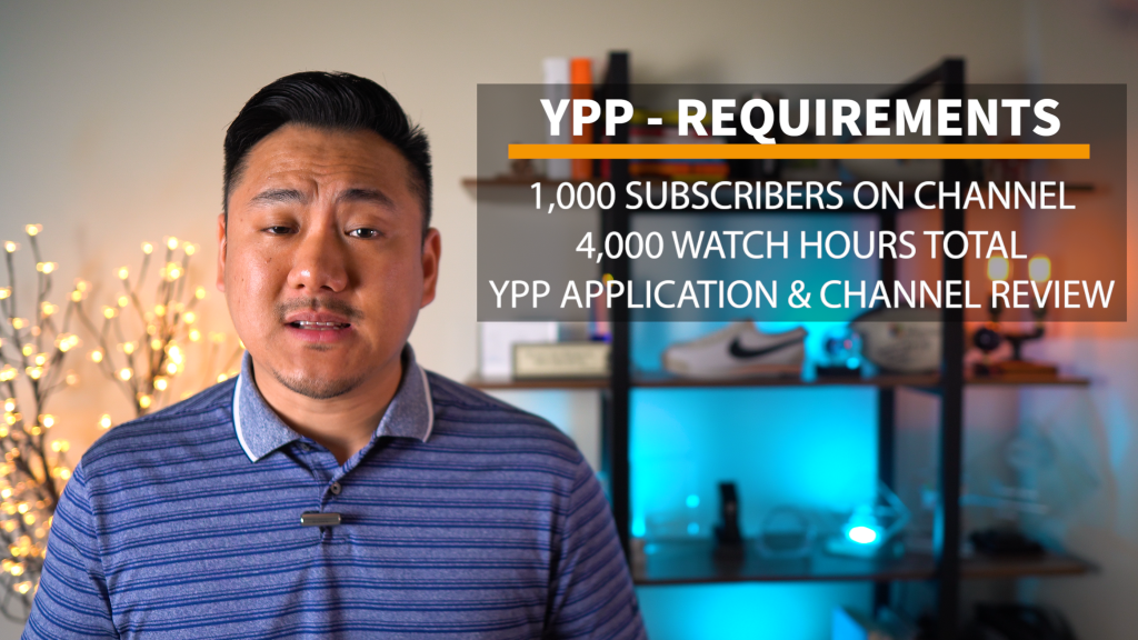 YPP Requirements